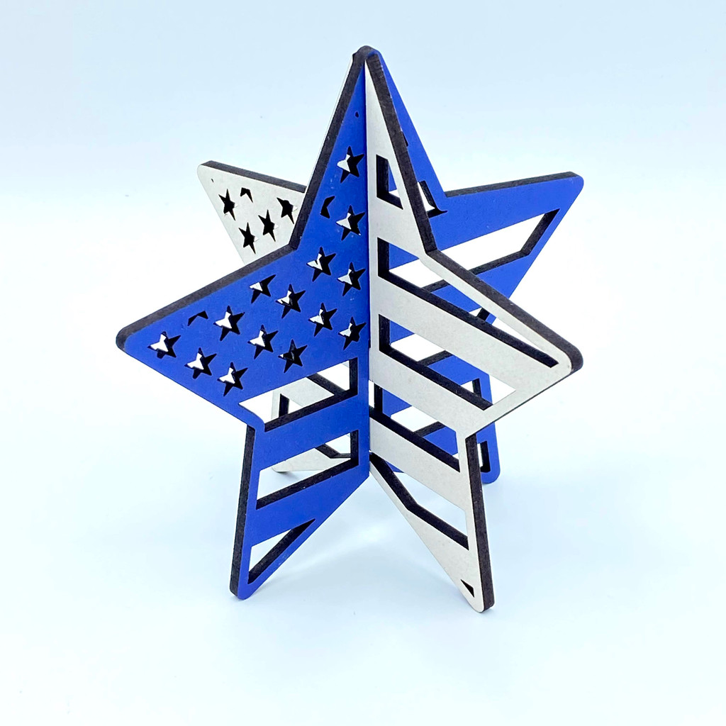 Fourth of July Star Decorations