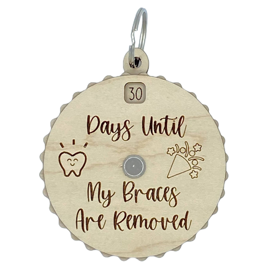 Days Until My Braces Are Removed Countdown Spinner