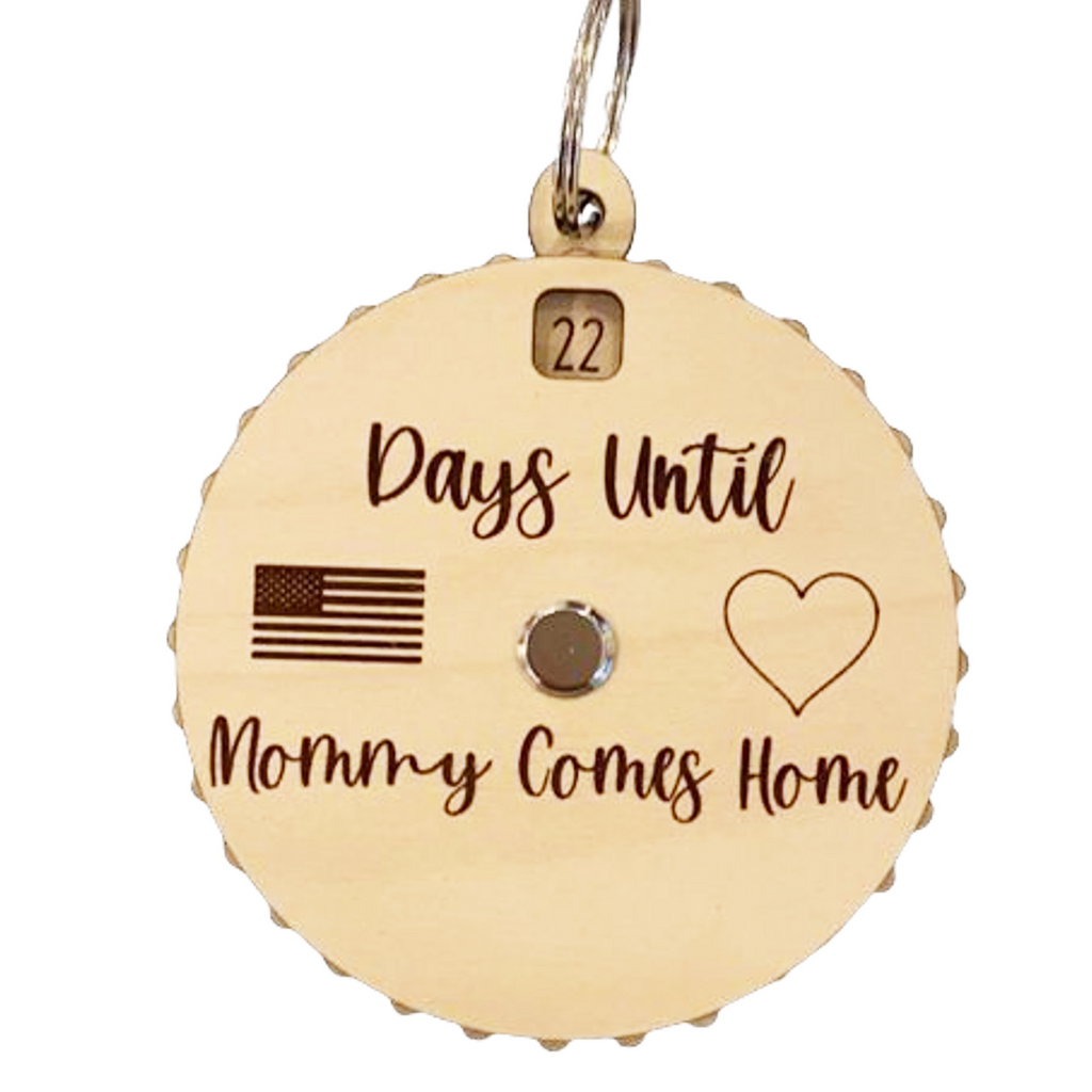Days Until Daddy/Mommy Comes Home Countdown Spinner