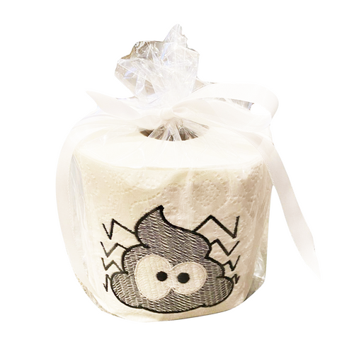 Spider Embroidered Toilet Paper