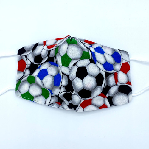 Soccer Mask, 100% cotton, 3 Layers