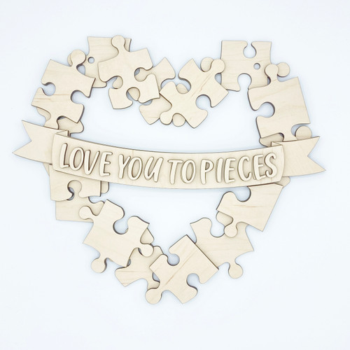 Love You To Pieces DIY Paint Kit