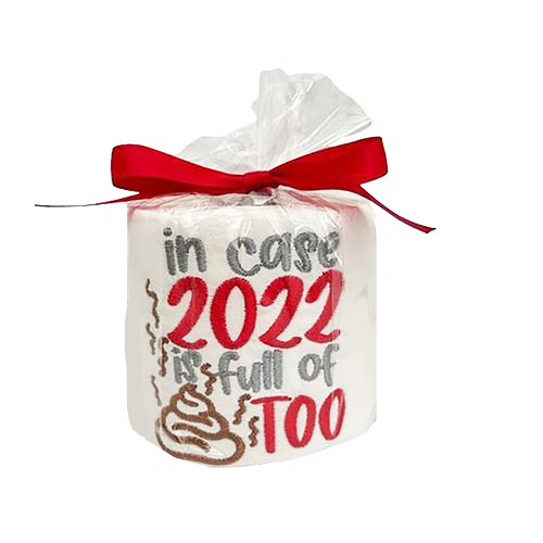 2021/22 Funny Embroidered Toilet Paper