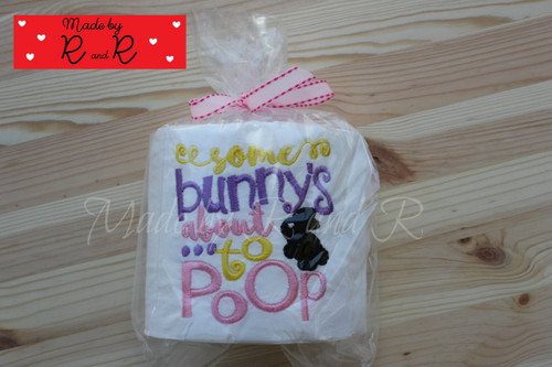 Some Bunny's About To Poop toilet paper
