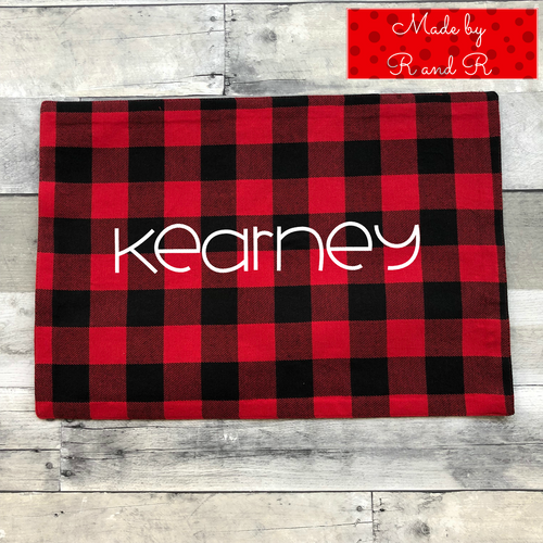 Custom Holiday Placemat