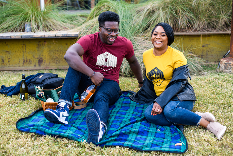 Don't let a little wet grass ruin your picnic. Let the Great Outdoors Blanket keeps you warm and dry as you brave the elements for some socially distanced fun this winter.