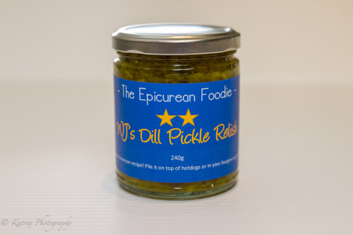 WJ's Dill Pickle Relish