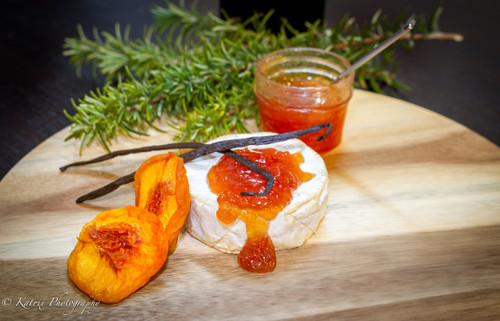 Peach Bourbon Paste
