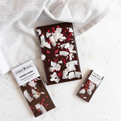 Cheeky Cacao Raspberry & Coconut bar