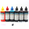 Standard Dye Ink - 100 ml x 6  Four-Color  for Canon (KD600X-CC)