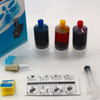 Premium Universal Color Ink Cartridge Refill Kit for HP, Canon, Epson, Lexmark, Brother, and Dell (RK-UC3)