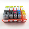 [Refer] Edible Ink Cartridge for Canon PGI-250 & CLI-251 - 5 PCS  F10620 Ink