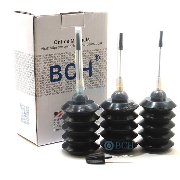 Premium Dye Ink - 30 ml x 3 Black for Canon Printers (ID30-KKK-AC)