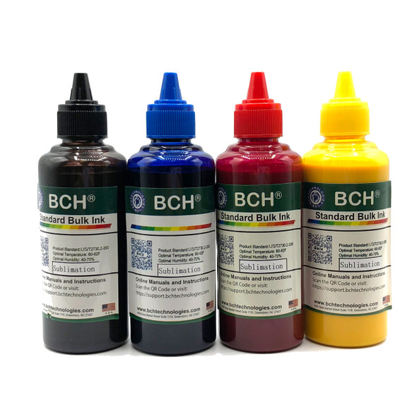 Standard 400 ml 4-Color Sublimation Ink for Epson (IS400X-CE)