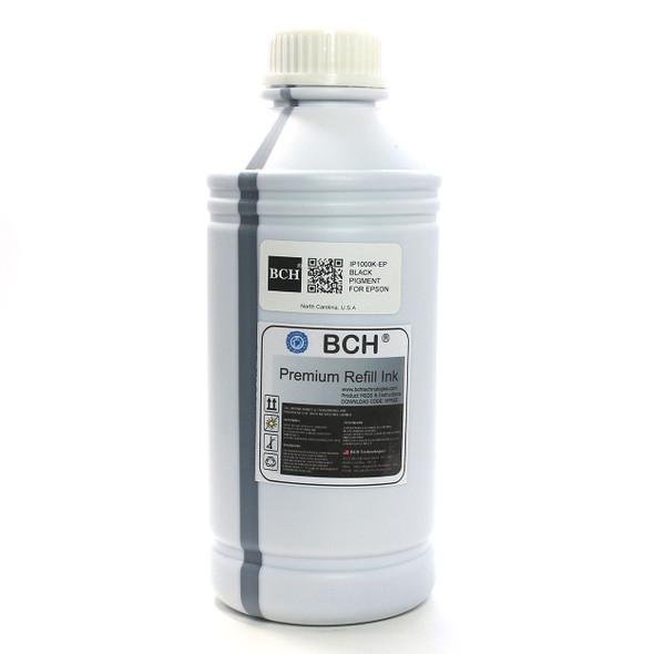 Premium 1000 ml Black Pigment Ink for Epson (IP1000K-AE)