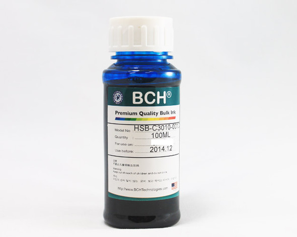 Premium Dye Ink - 100 ml Cyan for Canon (ID100C-AC)