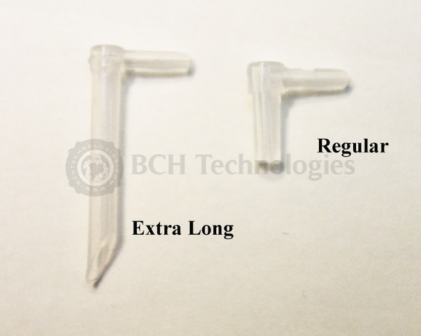 Extra Long Elbow-Plug 4-Pair Set for Continuous Ink System CISS CIS - Plastic