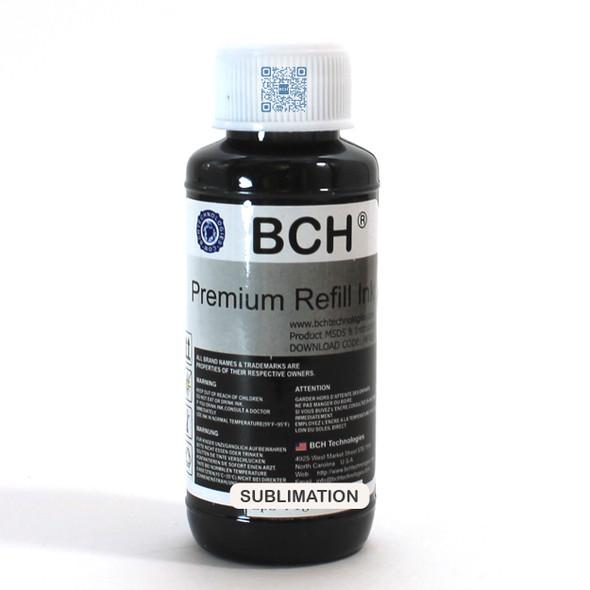 Ultra Premium 100 ml Extra Dark Black Sublimation Ink for Epson (IS100SuperK-AE)