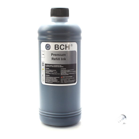 Standard 500 ml Black Photo Dye Ink for All Printers (ID500K-CU)