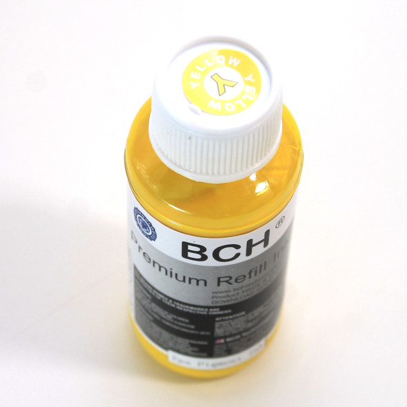 Premium 100 ml Yellow Sublimation Ink for Epson (IS100Y-AE)