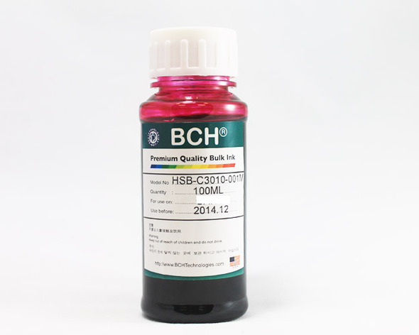 Premium Dye Ink - 100 ml Magenta for HP (ID100M-AH)