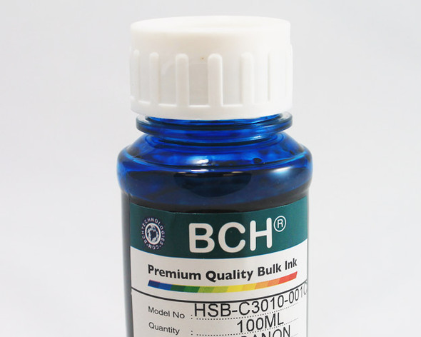 Premium Dye Ink  - 100 ml Cyan for HP (ID100C-AH)