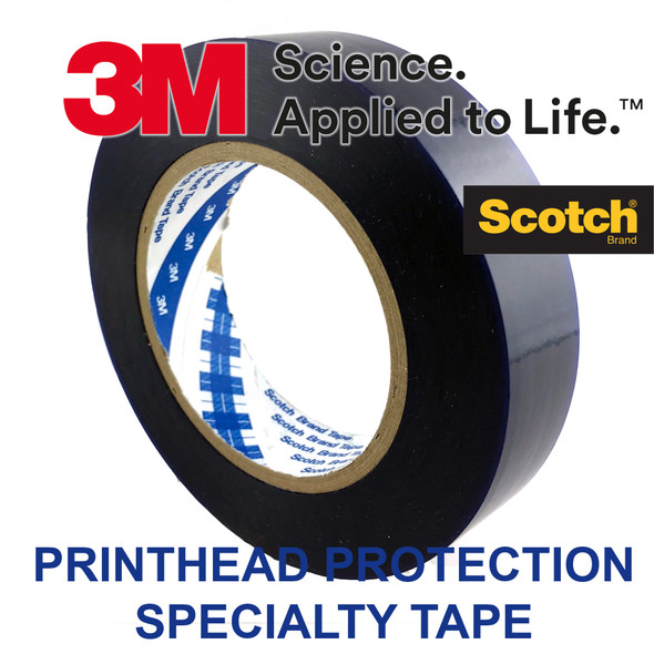 3M Specialty Tape (1 X 328') for Sealing Ink Cartridge & Printhead Blue Wide