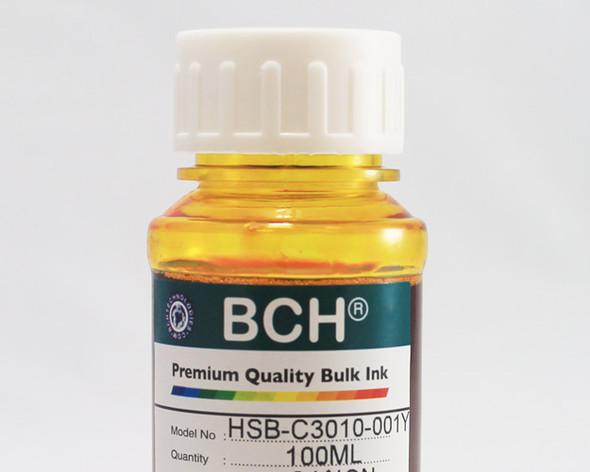 Premium Dye Ink - 100 ml Yellow for HP (ID100Y-AH)