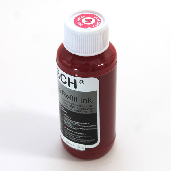 Premium Pigment Ink - 100 ml Magenta Ink for HP  (IP100-6-AH)