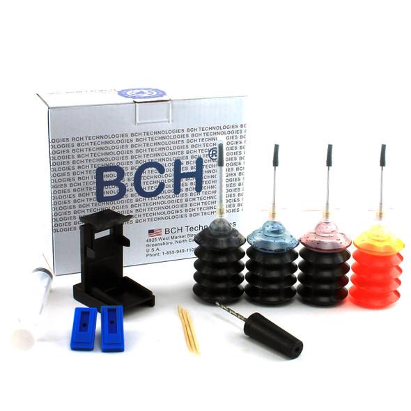 First-Timer Ink Refill Kit for HP Inkjet Printer Cartridges:  60 61 62 63 64 65 66 67 EZ30-T