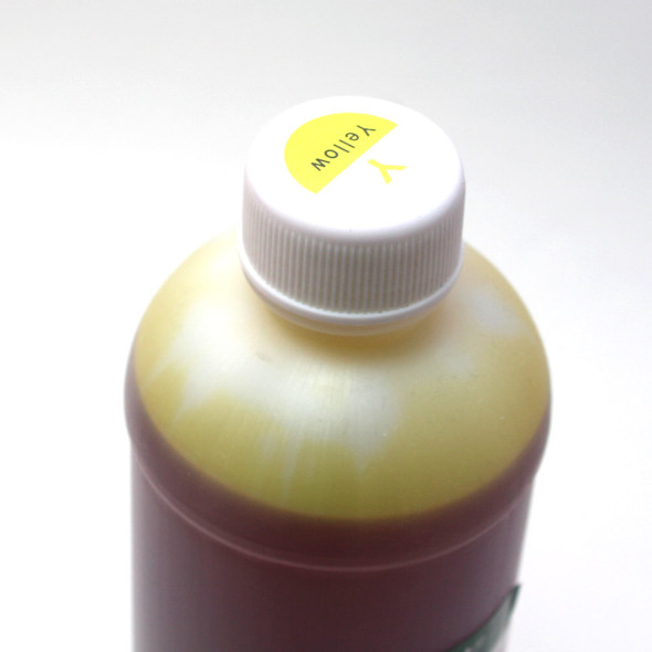 Standard 500 ml Yellow Photo Dye Ink for Lexmark (ID500Y-CL)