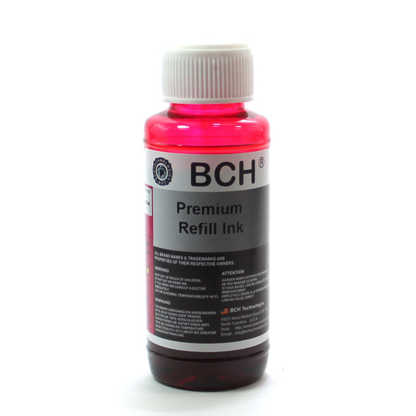 Premium Dye Ink - 100 ml Light Magenta (PM) for Canon (ID100LM-AC)