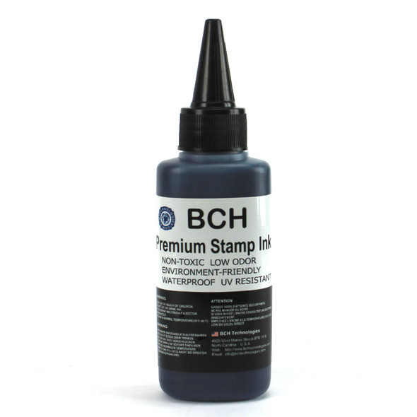Premium Black Water-Based Refill Ink for Self Inking Stamps Inkpad