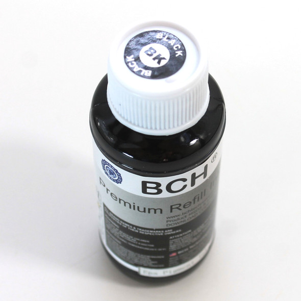 Pigment 100 ml  Black Refill Ink for Epson, DURABrite Compatible (IP100-4-AE)