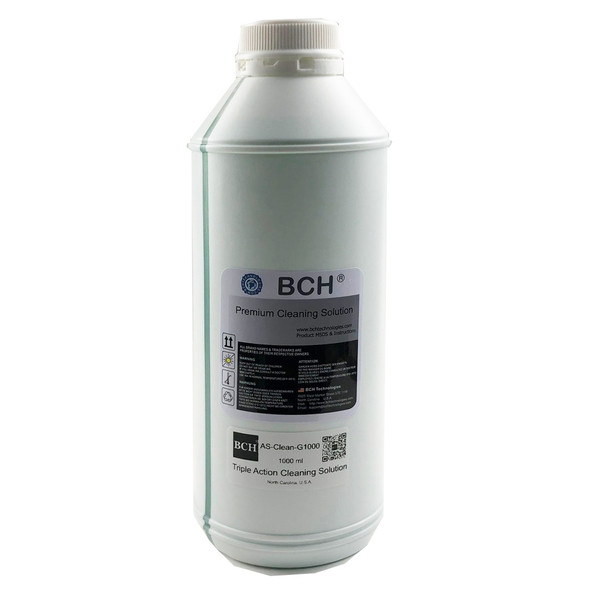Bulk (1,000 ml) Triple Action Cleaning Solution for Dye, Pigment, Sublimation Inks