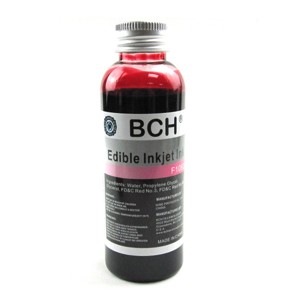 BCH F10620 Edible Ink - Magenta 100 ml for HP & Canon (ED100M-F10620)