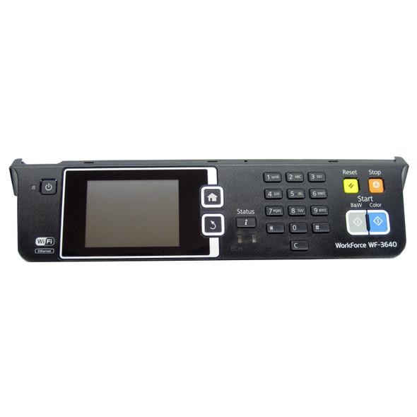 Epson Workforce WF-3640 Printer Front LCD Control Panel Display Screen