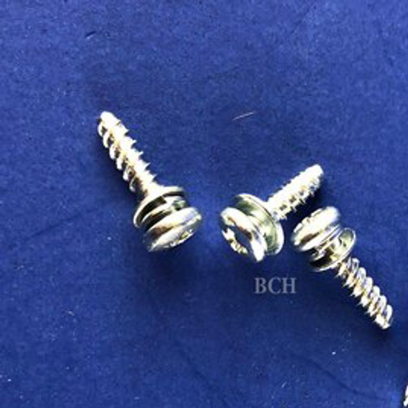 Zinc 3x12 Screws Secure to Plastic for Star Wheel -3 PCS