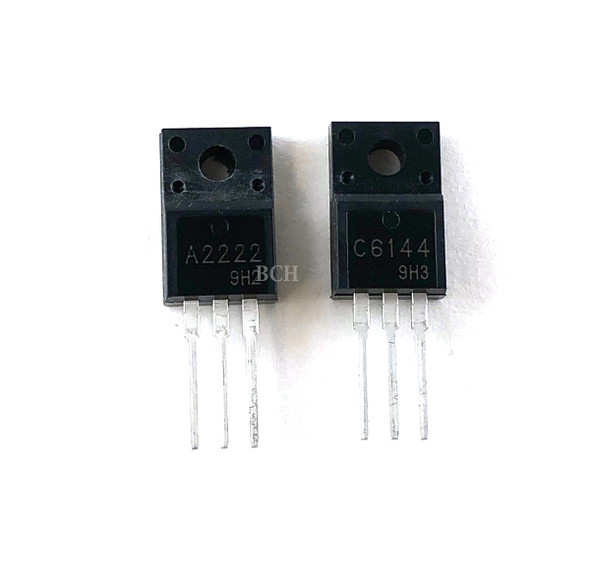 Transistor Pair A2222 (2SA2222) and C6144 (2SC6144) for Epson EcoTank & WorkForce WF-2630