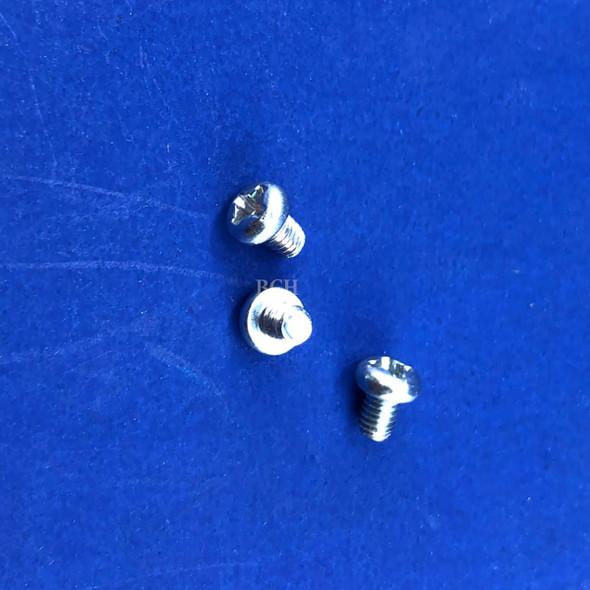 Zinc 3x4 Screws Secure to Metal Mainboard & Metal Assembly - 3 PCS