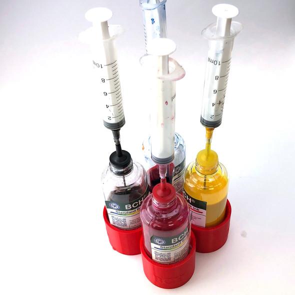 Ink Bottle Holder - 4 Bottles