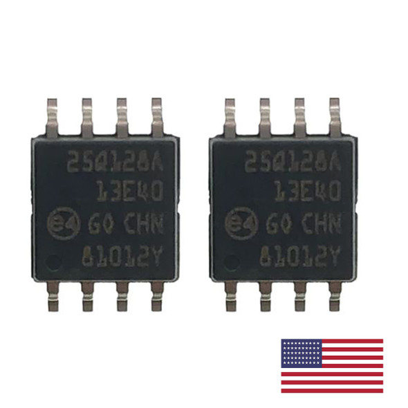 2PCS N25Q128A13ESE40F 25Q128A 128-Mbit 3V serial flash memory SOP8 for Firmware