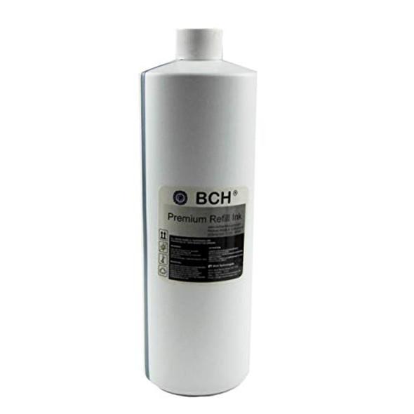 BCH Bulk 1 Liter (1000 ml) Premium Black Dye Ink for All Inkjet Printer Cartridges