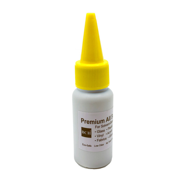 BCH Premium All-Surface Stamp Ink - Solvent Based Fast DryYellow