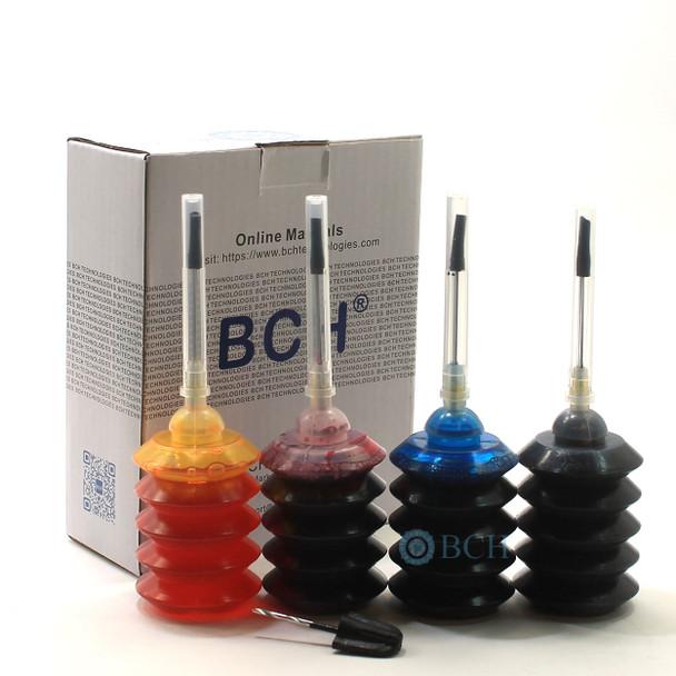 Premium Dye Ink - 30 ml x 4 Four-Color Ink for HP Printers (ID30-KCMY-AH)