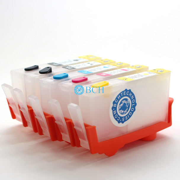 5 BLANK Refillable Cartridges for HP 178 364 564 920 902 934 935 Cartridges for Photosmart Series (No Chip)
