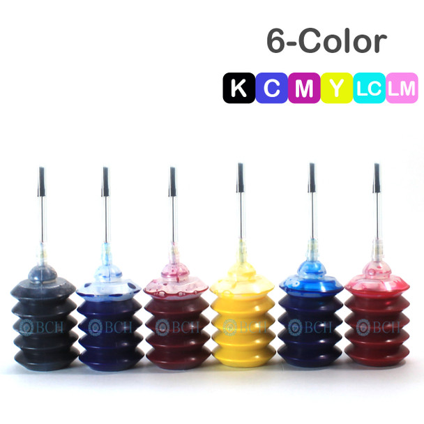 Premium Pigment Ink - 30 ml x 6 Six Color for Canon (IP30-456789-AC)