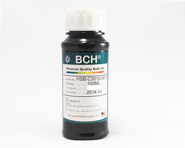 Premium Dye Ink - 100 ml Black for Canon (ID100K-AC)