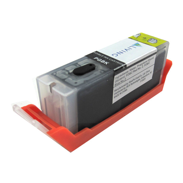 [Refer] Edible Ink Cartridge for Canon PGI-280 PGBK with  F10620 Ink
