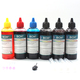 Standard Dye Ink - 100 ml x 6 Four-Color Ink for HP